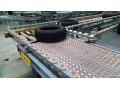 Intralox High-Speed Sortation Conveyor for Tires