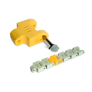 Habasit Case Chain 1201AB Connecting Link (Straight)